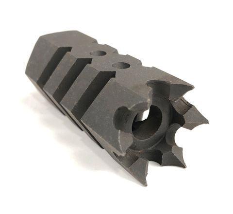 Russian DTK type steel flash hider 14mm CCW