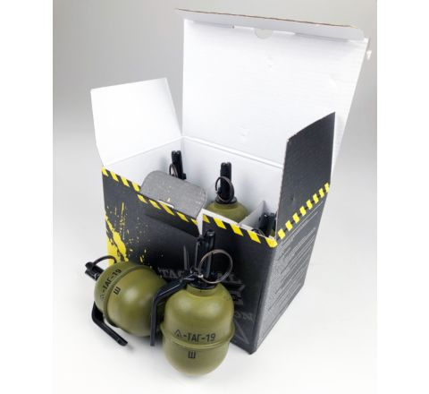 TAG Innovation TAG-19 Airsoft BB Shrapnel Grenade - Pack of 6