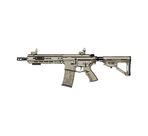 ICS CXP HOG EBB (Electric Blow-Back) Airsoft Rifle - Rear Wired Tan