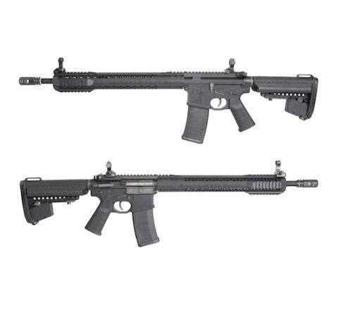 King Arms Black Rain Ordnance Rifle - Black - Airsoft AEG