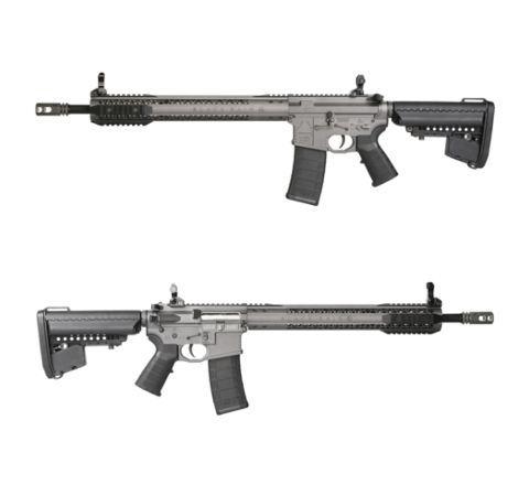 King Arms Black Rain Ordnance Rifle - Grey - Airsoft AEG