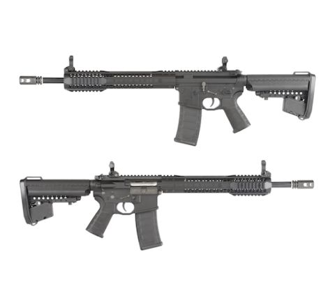 King Arms Black Rain Ordnance Carbine Rifle - Black - Airsoft AEG