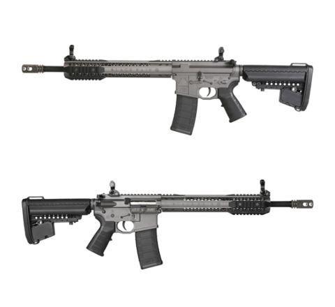 King Arms Black Rain Ordnance Carbine Rifle - Grey - Airsoft AEG