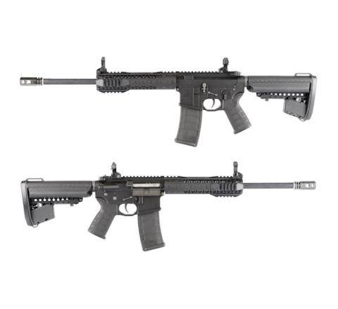 King Arms Black Rain Ordnance CQB Rifle - Black - Airsoft AEG