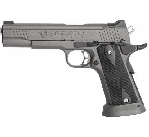 King Arms Predator Tactical Iron Shrike GBB Airsoft Pistol - Grey Sandblast