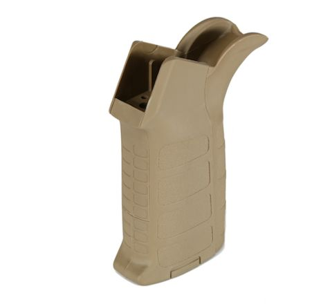 King Arms Training Weapon System (TWS) Type 2 Motor Grip for M4/M16 Series - Dark Earth