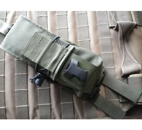 SAG Gear KDL double M4 mag pouch - Olive