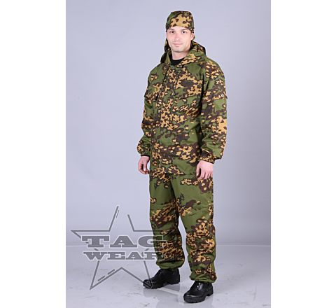 "TAGwear ""KZM"" Camo Suit - Jacket and Trousers"