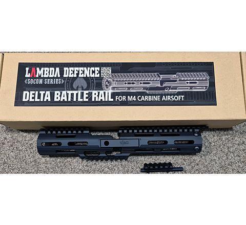 TWI Lambda Defence SOCOM Series Delta Battle Rail Handguard for Combat M4