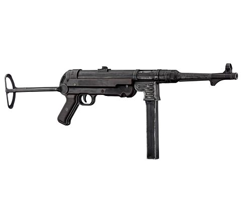BO Manufacture MP40 Overlord WWII Blowback AEG - Battlefield Custom Finish - Limited Edition