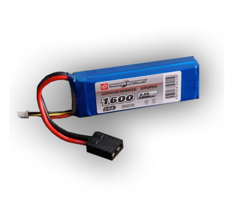 Lithium Ferrite (LiFe / LiFePO4) 1600mAh 9.9v Battery Pack