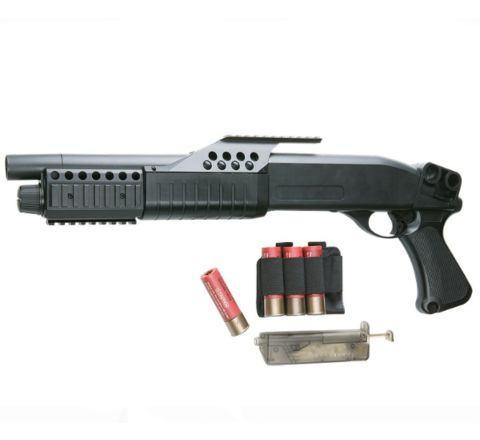 AGM Tactical Pistol Grip Airsoft Shotgun (M180-A1)
