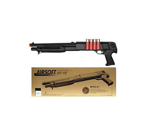 AGM M56 Style Pistol Grip Airsoft Shotgun (M183-A1)