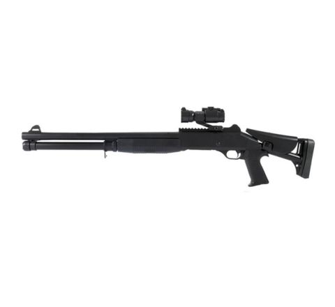 AGM M56 Style Adjustable Stock Full Sized Airsoft Shotgun (M186A)
