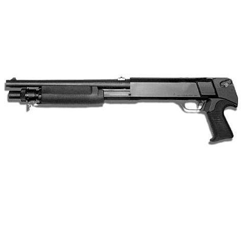 Tokyo Marui M3 Shorty Triple Barreled Airsoft Shotgun