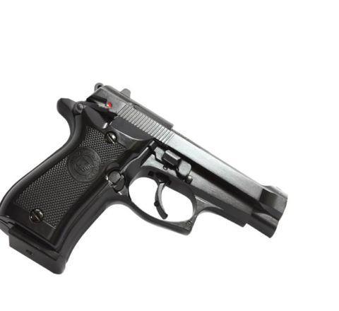WE Airsoft M84 Standard GBB Airsoft Pistol - Black