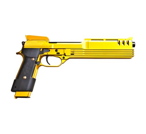 KSC M93R Auto 9-C 'Robocop' Airsoft Pistol - GOLD FLAKE - Pre-Order