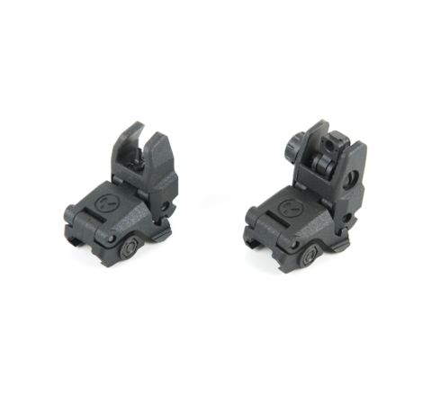 Magpul MBUS Gen 1 Nylon flip-up sight set for 20mm RIS rail BLACK