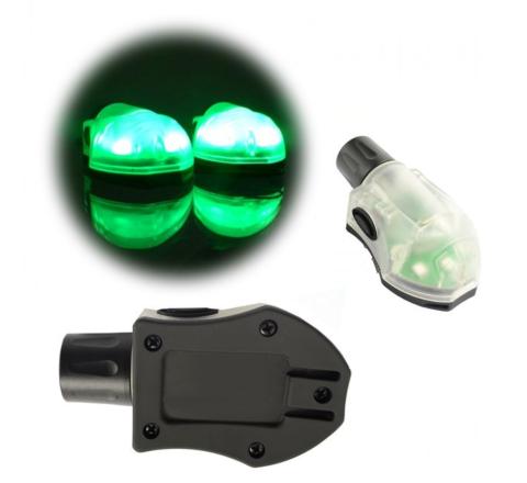 Element 'S&S' Manta Strobe - Black & Green
