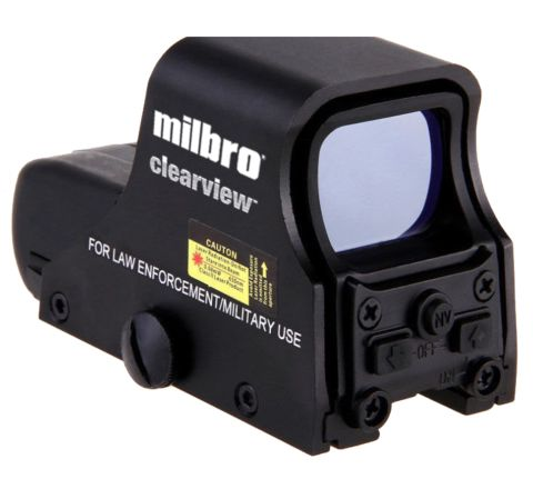 MILBRO Clearview 551 Red Dot Sight for Airsoft and Air Weapons!