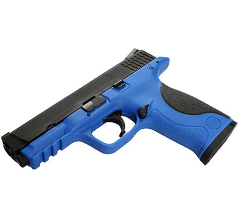 "WE Airsoft Two-Tone P&M Pistol ""Big Bird"" - Blue"