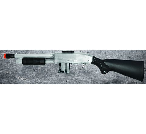 Two-Tone Mossberg 590 Full Stock Airsoft Shotgun - Springer