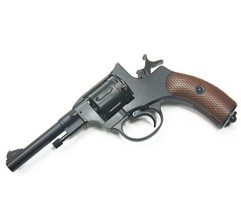 Wingun M1895 NAGANT Airsoft Revolver - Aged Black