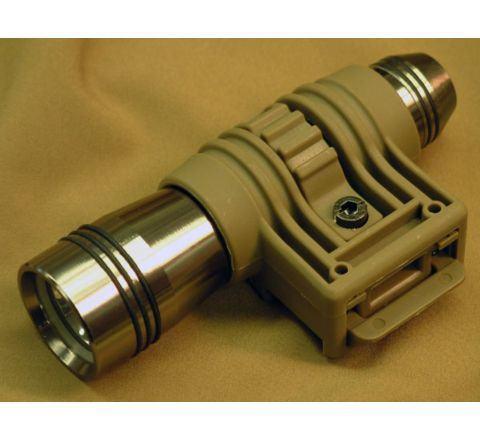 TD-style Flashlight mount for 20mm RIS - Dark Earth