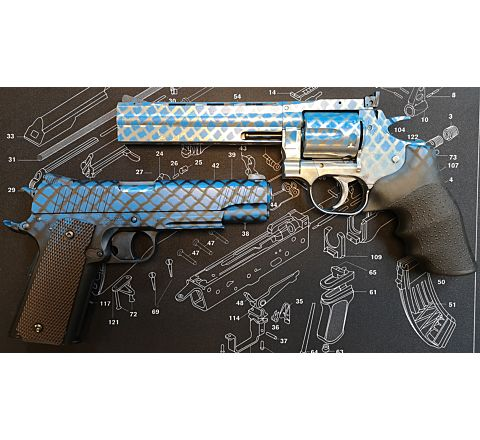 Custom Two-Tone/TwoTone/2T Paint/Spray Job (Pistol)