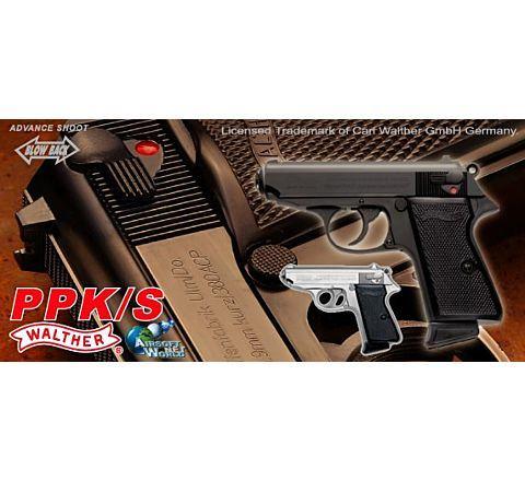 Maruzen Police Pistol K / S '007' GBB Airsoft Pistol - Black