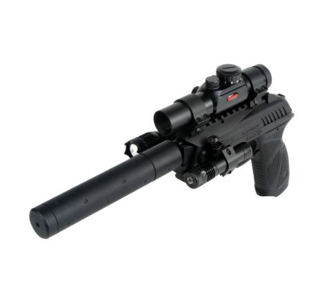GAMO PT-85 Tactical Semi-Automatic Blowback .177 / 4.5mm CO2 Air Pistol