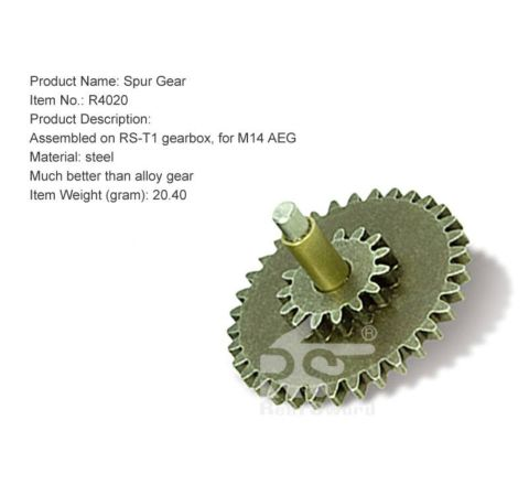 Real Sword Steel Spur Gear for the Type 97 T1 Gearboxes