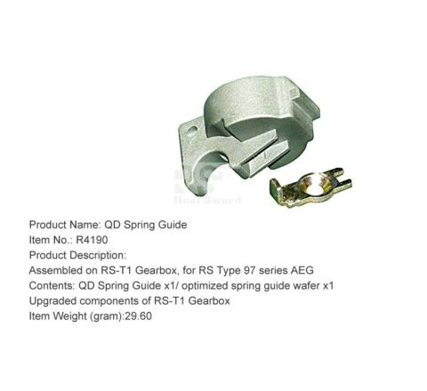 Real Sword QD Spring Guide For Type 97 T1 Gearboxes