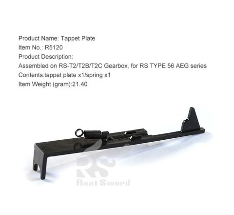 Real Sword Tappet Plate for Type 56 T2 / T2B / T2C Gearboxes