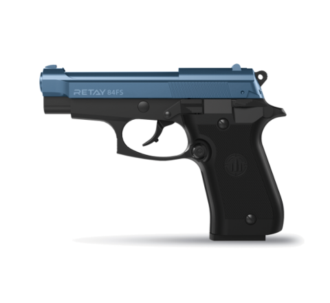 Retay Blank Firing 9mm 84FS (84 FS) Black/Blue