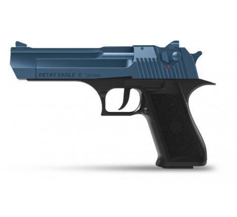 Retay Blank Firing 9mm Eagle X (Desert Eagle) Black/Blue