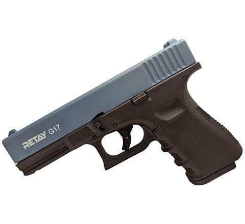 Retay Blank Firing 9mm 17 (Glk) Black/Blue