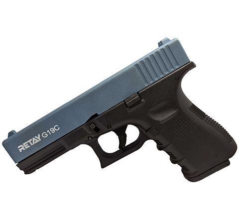 Retay Blank Firing 9mm 19C (Glk) Black/Blue
