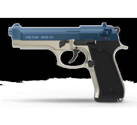 Retay Blank Firing 9mm MOD92 (M92) Satin/Blue
