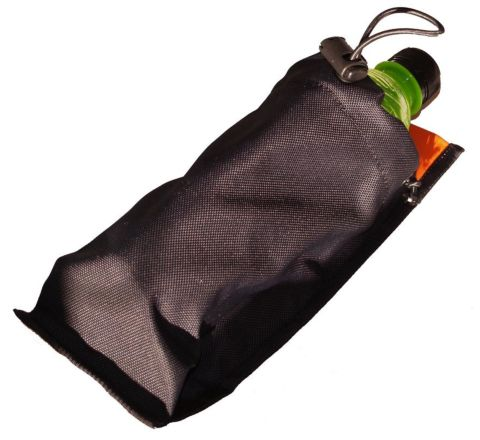 SAG Gear - Nalgene / 500ml Bottle Pouch - Black & Orange