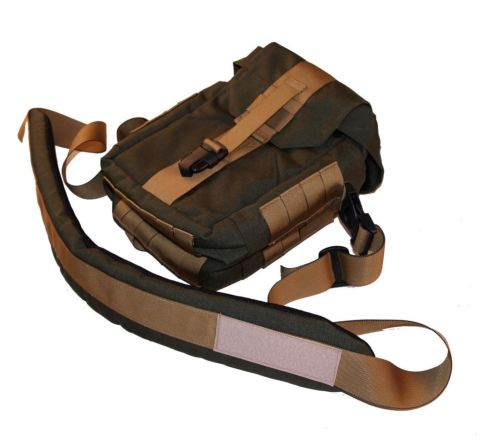 SAG Gear - Tactical Camera Bag - Olive & Tan