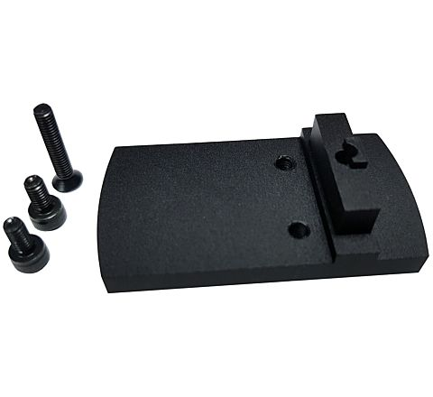 Silverback Black Micro Red Dot Adapter for Tokyo Marui Glock styled airsoft pistols