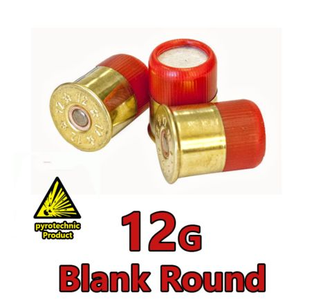12g Shotgun Saluting Blanks (Helston) (10-Pack)