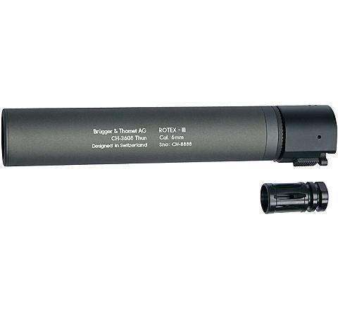 B&T ROTEX III quick detach suppressor - Grey