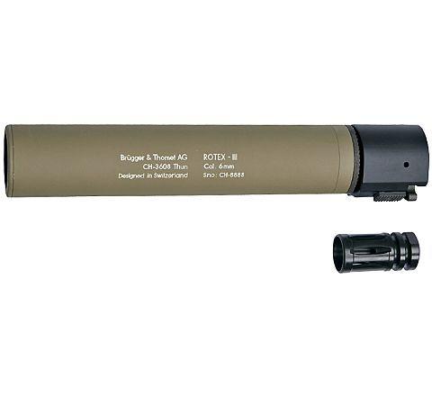 B&T ROTEX III quick detach suppressor - Tan