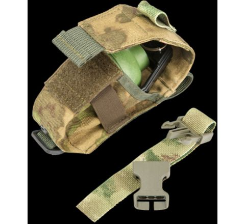 TAG Innovation Single Grenade Pouch - Moss/ATAC
