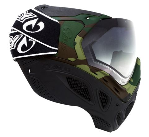 Valken Sly Profit Goggles - Full Face - Woodland