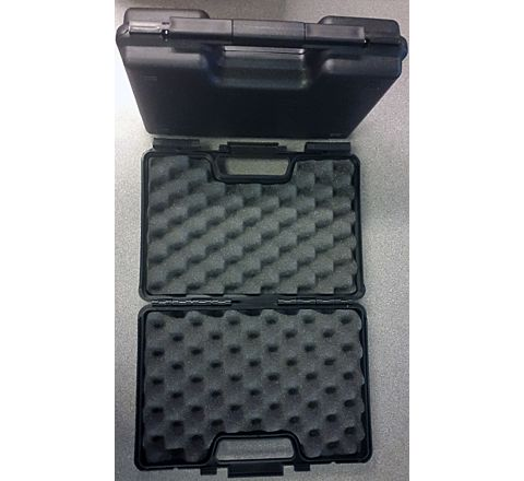 "Black 30cm/12"" - padded Pistol Hard Case"