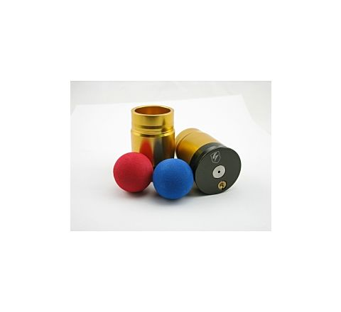 S-Thunder Foam Ball Airsoft Grenade Dual-Pack Gold - Single Ball