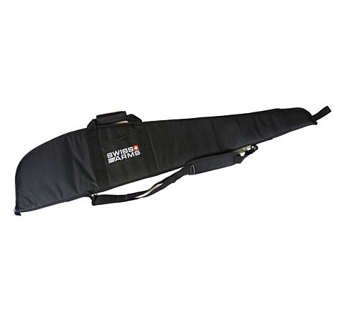 "Swiss Arms 120cm - 47"" Angled padded Rifle Case / Gun Bag"